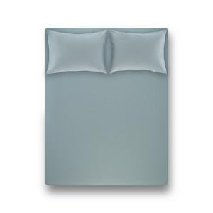 Простынь на резинке с наволочками Penelope - Laura green зелёный 160*200+50*70 (2)